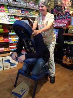 Chair Massage with Kimberly McKay